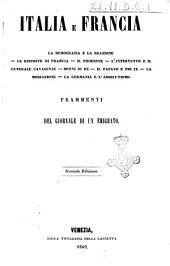 Italia e Francia la democrazia e la reazione ...
