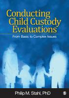 Conducting Child Custody Evaluations PDF