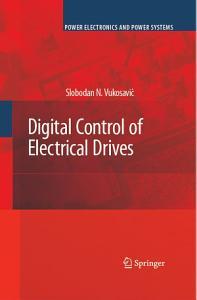 Digital Control of Electrical Drives PDF