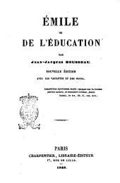 Émile ou de l'éducation par Jean Jacques Rousseau