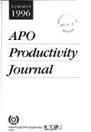 APO Productivity Journal