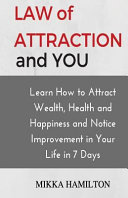 Law Of Attraction And You Book PDF