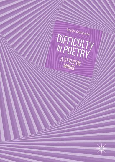 Difficulty in Poetry PDF