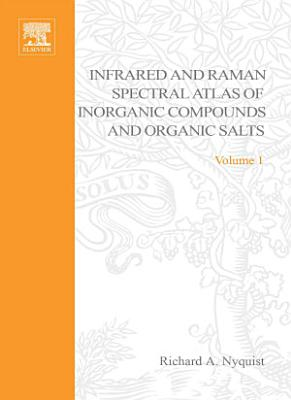 Handbook of Infrared and Raman Spectra of Inorganic Compounds and Organic Salts