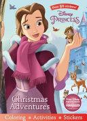 Disney Princess Christmas Adventures Book PDF