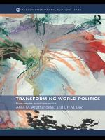 Transforming World Politics PDF