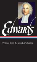 Jonathan Edwards  Writings from the Great Awakening  LOA  245  PDF