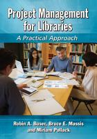 Project Management for Libraries PDF