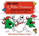 Mr Men a White Christmas Colouring Storybook PDF