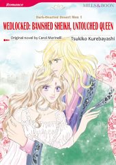 WEDLOCKED: BANISHED SHEIKH, UNTOUCHED QUEEN: Mills & Boon Comics