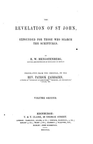 The Revelation of St John