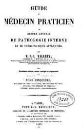 Guide du medecin praticien: Volume5
