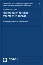 Hochschulen f  r den   ffentlichen Dienst PDF