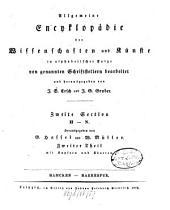 Allgemeine Encyklopädie der Wissenschaften und Künste: In alphabetischer Folge. ¬Section ¬2, H - N ; Theil 2, Hamcken - Harrespur