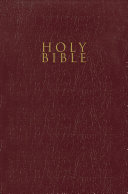 Niv  Gift and Award Bible  Leather Look  Burgundy  Red Letter Edition  Comfort Print PDF