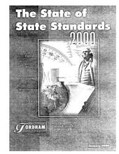 State of State Standards 2000: English, History, Geography, Mathematics, Science