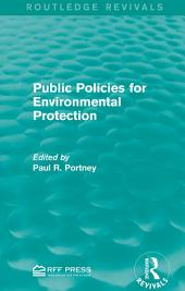 Public Policies for Environmental Protection