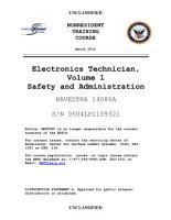 Manuals Combined  U S  Navy ELECTRONICS TECHNICIAN  VOLUMES 01   08 PDF