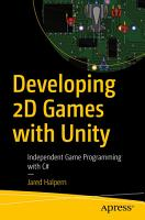 Developing 2D Games with Unity PDF