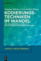 Kodierungstechniken im Wandel PDF