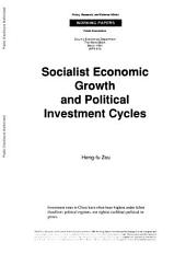Socialists Economic Growth and Political Investment Cycles