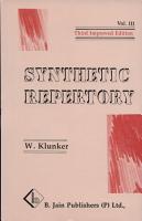 R  pertoire Synth  tique PDF