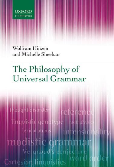 The Philosophy of Universal Grammar PDF