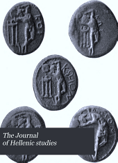 The Journal of Hellenic Studies: Volume 27