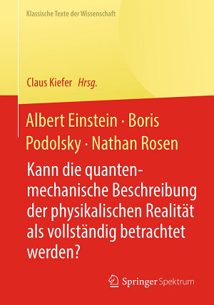 Albert Einstein  Boris Podolsky  Nathan Rosen PDF