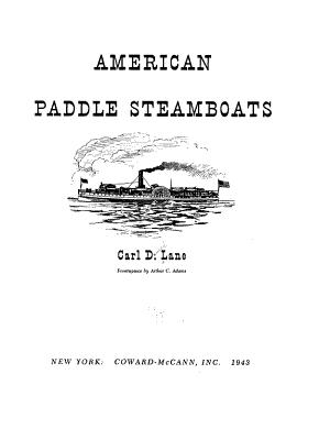American Paddle Steamboats PDF