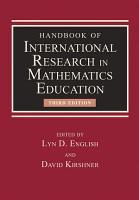 Handbook of International Research in Mathematics Education PDF