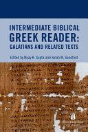 Intermediate Biblical Greek Reader