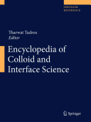Encyclopedia of Colloid and Interface Science