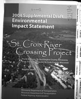 TH 36 STH 64 St  Croix River Crossing Project PDF
