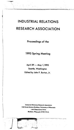 Proceedings of the     Spring Meeting PDF