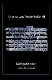 Kompositionen: Lieder & Gesänge