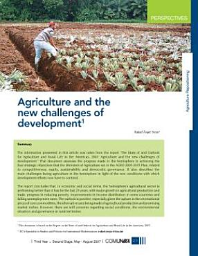 Iica  Agriculture and the New Challenges of Development PDF