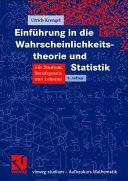 Einf  hrung in die Wahrscheinlichkeitstheorie und Statistik PDF