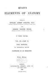 Quain's Elements of Anatomy: Volume 3, Issue 2