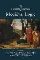 The Cambridge Companion to Medieval Logic PDF