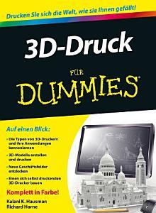 3D Druck f  r Dummies PDF