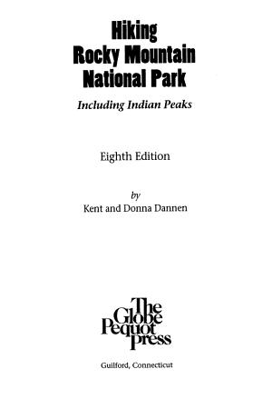 Hiking Rocky Mountain National Park PDF