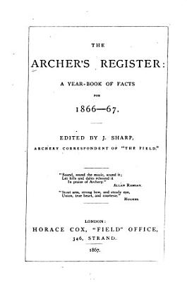 The Archer s Register PDF