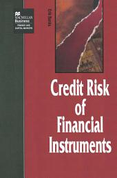 The Credit Risk of Financial Instruments