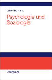 Psychologie und Soziologie: Lehr- und Lernbuch für die Verwaltung