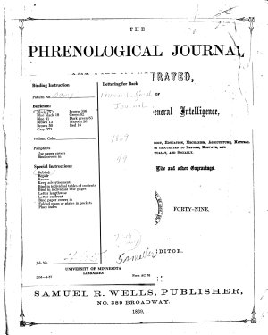 The American Phrenological Journal and Life Illustrated PDF