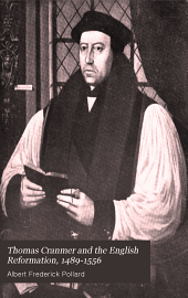 Thomas Cranmer and the English Reformation, 1489-1556