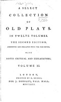 A Select Collection of Old Plays  Andromana  or The merchant s wife PDF