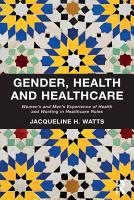 Gender  Health and Healthcare PDF
