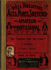 """The Pugilist and the Lady"": A Commedietta"